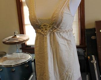 Free People Cotton Dress Size 0 (fits like a Size 6)