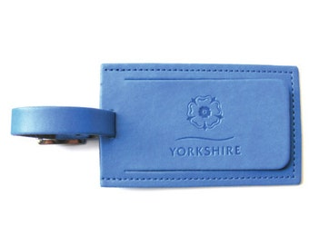 Yorkshire Luggage Tag