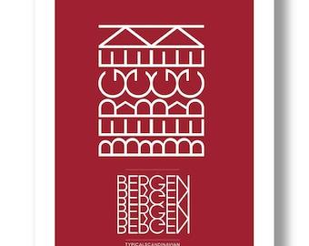 Bergen Poster Norway