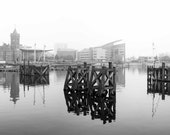 Cardiff Bay Foggy Reflect...