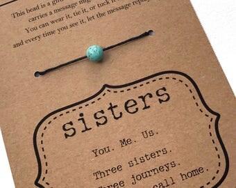 SISTERS Bracelet - Two Sisters, Three Sisters, Four Sisters, Five Sisters