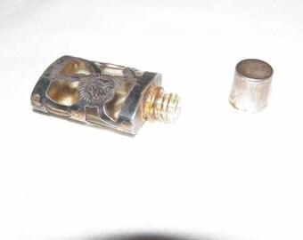 Vintage Sterling Silver Perfume Bottle