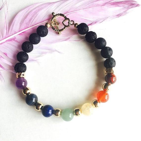 7 Chakra Mala Bracelet for Women