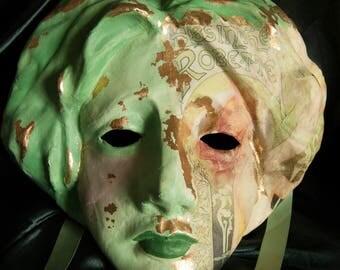 Venetian Style Absinthe Lady Mask
