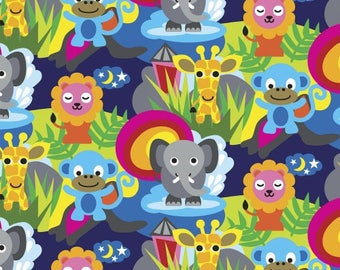 Jungle by French Bull from Windham Fabrics, Reference # 40861-X, 100 % cotton, Quilting, Fabrics, Sewing