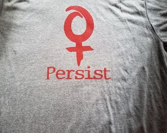 Persist t shirt (red)