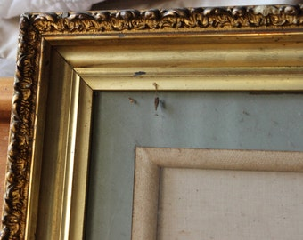 SALE! 25% discount. Matted Picture Frame, Vintage