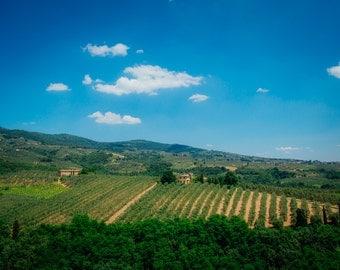 Tuscany Hills, Vinci Italy, Tuscany Photography, Italy Photography, Tuscany Landscape