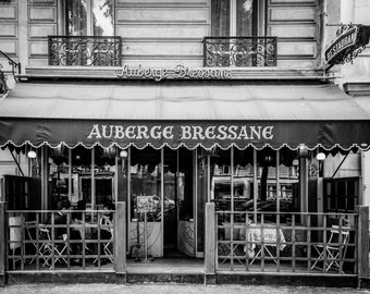 Paris Cafe Photography, French Home Decor, Fine Art Photography, Paris Wall Art, Parisian, Paris France Print, Paris Print, France Wall Art