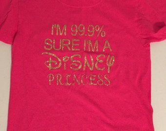 Disney princess youth t-shirt