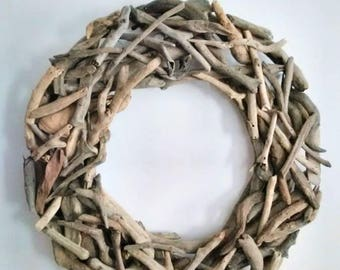Driftwood Wreath - 18 inches