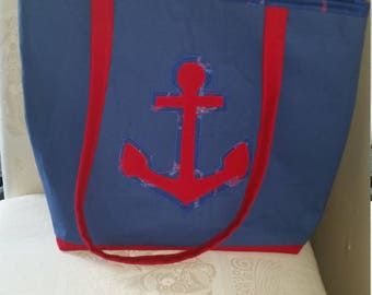 Anchors Away! Tote
