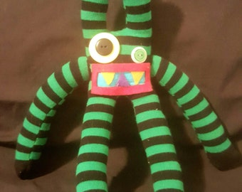Sock Monster: Zig Zag