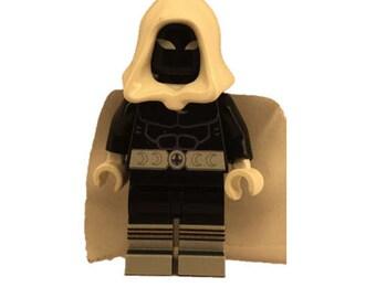 Custom LEGO minifigures - Black Knight with Original LEGO Parts