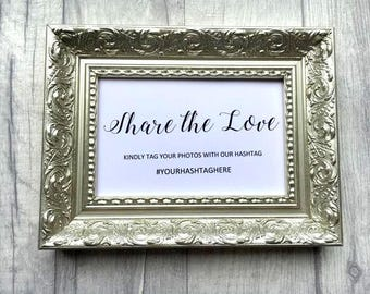 Set of 5 Wedding Signs