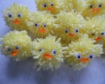 Fluffy Easter Chicks