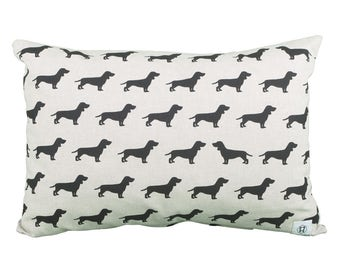 Pillow Rectangular Dog Dachshund