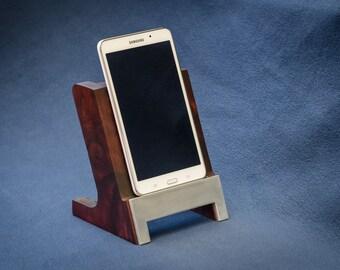 Base Stand Wooden Tablet Dock