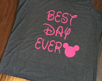 "Disney ""Best Day Ever"" tank"