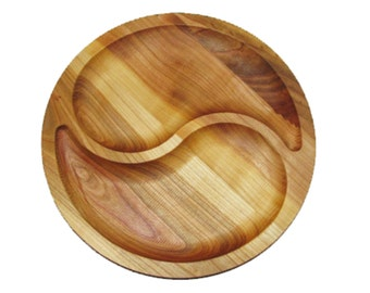 The wooden cherry plate portion 2 Department of food