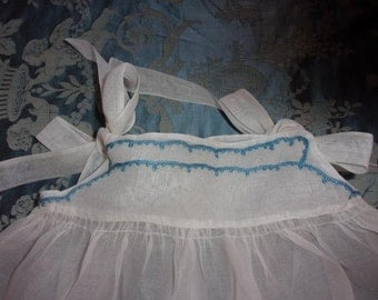 A pretty little old dress for baby or doll