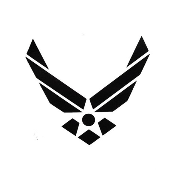 Vinyl Decal Sticker - US Air Force Decal for Windows, Cars, Laptops, Macbook etc