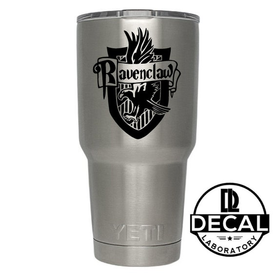 Yeti Decal Sticker -  Ravenclaw House decal inspired by Harry Potter Decal Sticker For Yeti RTIC Rambler Tumbler Coldster Beer Mug