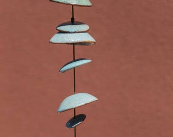 Ceramic Wind Chimes - Approximately 4 Feet