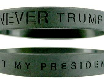 Anti Trump,Not My President,Never Trump,I Hate Trump,FuckTrump,Dump Trump,Anti Trump Jewelry,Anti Fascist,Trump Sucks,Stop Trump,Impeachment