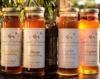 Lemon Myrtle Infused Honey