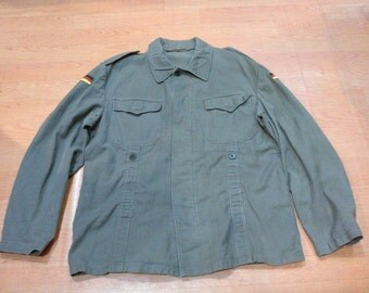 Vintage German Moleskin Vintage Germany Military Jacket
