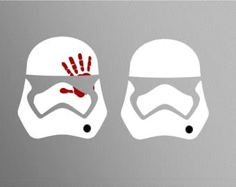 Stormtrooper star SVG Clipart Cut Files Silhouette Cameo Svg for Cricut and Vinyl File cutting Digital cuts file DXF Png Pdf Eps vector