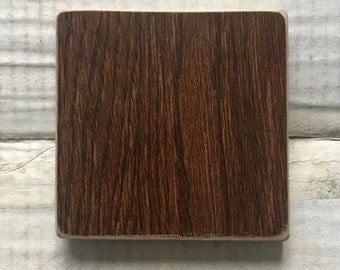 Wood Ceramic - Coaster Set of 6