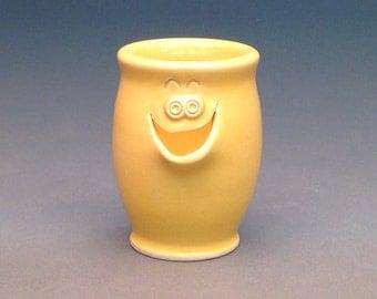 Yellow, Egg Separator, Ceramic Egg Separator, Pottery Egg Separator, Egg Separator, Handmade Egg Separator
