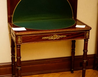 18th Century French Mahogany Game Table