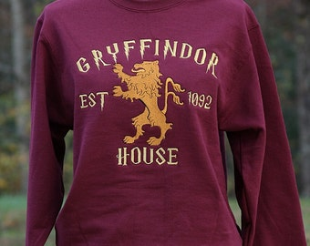 Harry Potter Inspired Gryffindor Sweatshirt