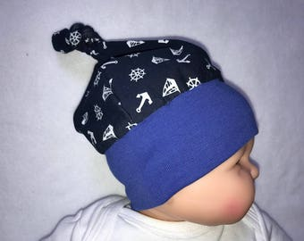 Baby first Cap anchor sailboat maritim