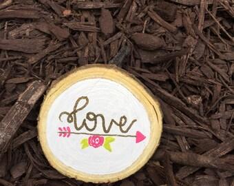 Love medium wood chip