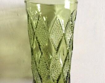 Vintage green glasses (6)