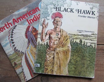 Native American Picture Books Black Hawk Frontier Warrior North American Indians American History