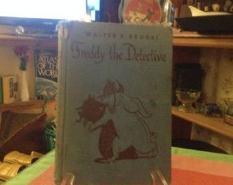 Freddy the Detective by Walter R. Brooks 1948 edition