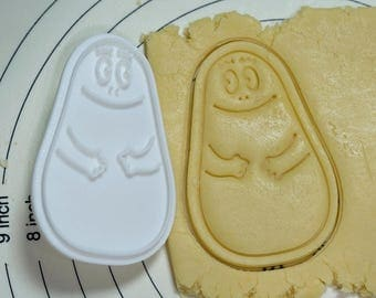 Babapapa Cookie Cutter and Stamp