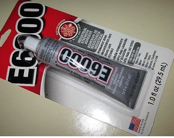 E6000  Glue Industrial strength formula