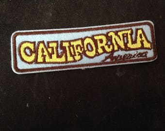California Patch Embroidered Applique Sew On /Iron on Patch  go98