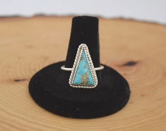 Blue Ridge Turquoise Silver Ring