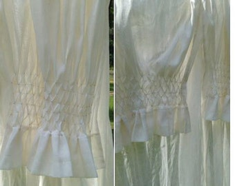 Costumed   Smocked Curtains