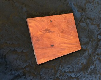 Exotic African Mahogany Serving and Cutting Board