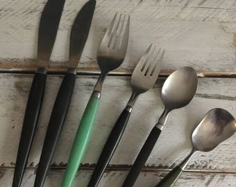 retro flatware, food styling, food photography, props