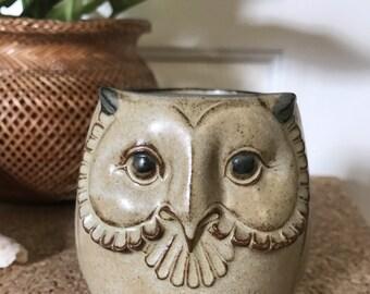 Cute Vintage owl mug