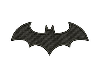 11 Size Batman Logo Embroidery Designs Instant Download 8 Formats machine embroidery pattern